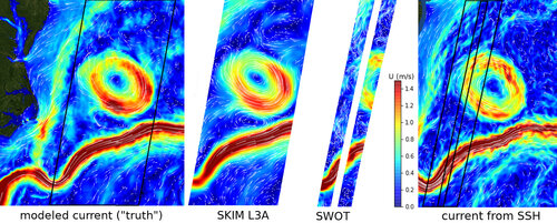 Measuring currents, ice drift, and waves from space: \\ the Sea Surface KInematics Multiscale monitoring (SKIM) concept