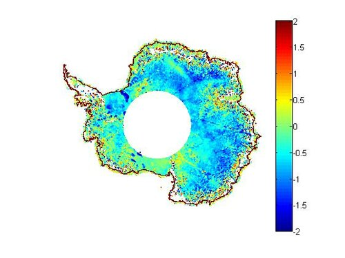 Envisat and Icesat comparison over the Antarctic ice sheet :